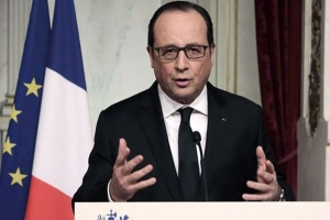Hollande presidente de Francia