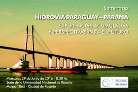 Seminario: Hidrovía Paraguay-Paraná