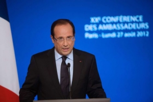Presidente de Fancia, Fancois Hollande