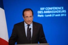 Presidente de Fancia, Fancois Hollande
