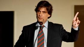El Ministro de Hacienda, Hernán Lacunza, se encuentra hace varios días en Washington.