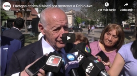 VIDEO: Lavagna critica a Macri por sostener a Pablo Avelluto