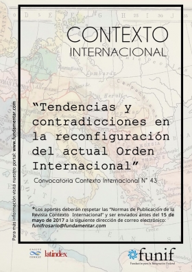 Convocatoria Revista Contexto Internacional N° 43