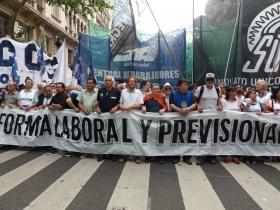 Los sindicatos sostienen el rechazo a la reforma laboral y las movilizaciones desde hace al menos dos años.